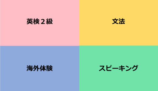 【大学入試にとらわれない】エピソードつき 9歳からの英語学習4つの目標〜英検編〜